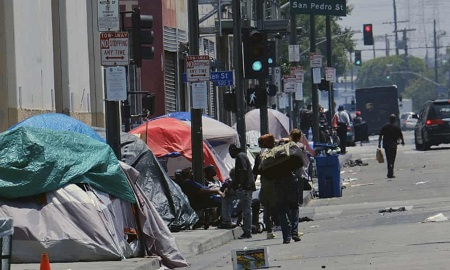 USA: 36,000 Homeless in Los Angeles