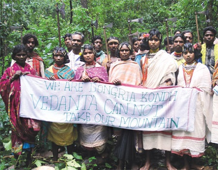 India: Protesting > 40K Trees Cut for Mine, Police Crack Down