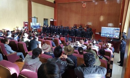 "62943b0cb6a89 Nine Tibetans sentenced up to 7 years in prison under China s ""organised  crime"" crackdown A notice issued in February 2018 by the Tibet Autonomous  Region ..."