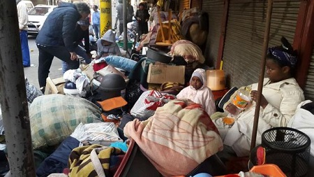 City of Johannesburg Defies Court, Evicts 257