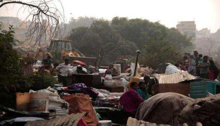 4c30ab5dd In a major victory for land rights campaigners, Delhi High Court ruled that  forced evictions of slum dwellers without consultation or resettlement  plans are ...