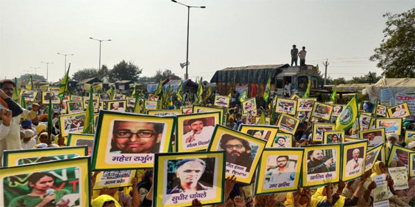 India: Farmers Protest, Support Political Prisoners