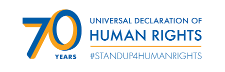 We`re Celebrating 70th Human Rights Day