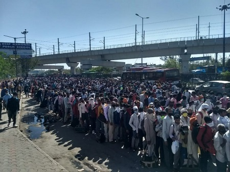 India: Migrants Marched Further to Margins